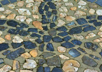 Bild von verlegten Natursteine